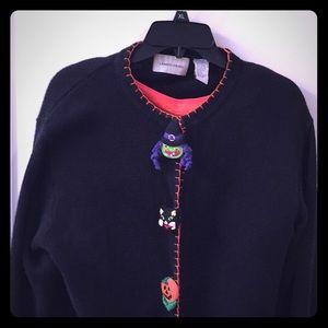 Free skull ring🎃Super Cute Halloween sweater 🎃